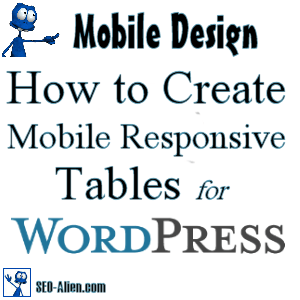WordPress - How to Make Mobile Friendly Tables