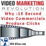 Fifteen Second Video Commercials Produce Clicks