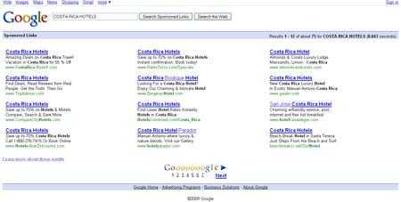 Indice Google PPC