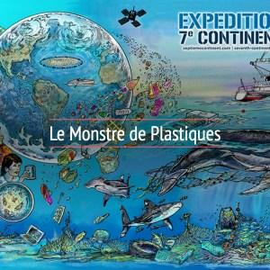 Commandez La BD De L'Expédition 7e Continent «Le Monstre De Plastiques»