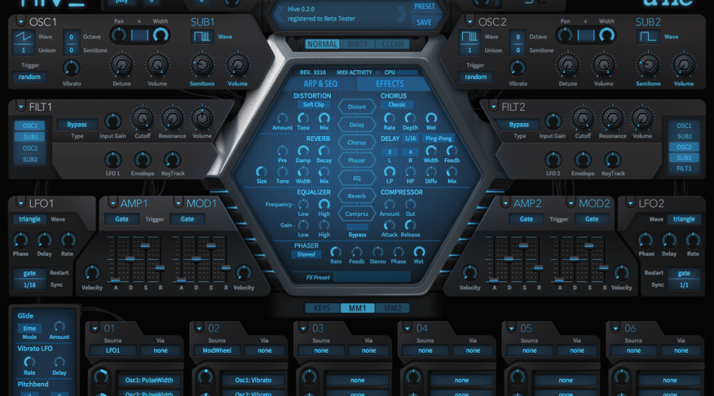 Hive Synth