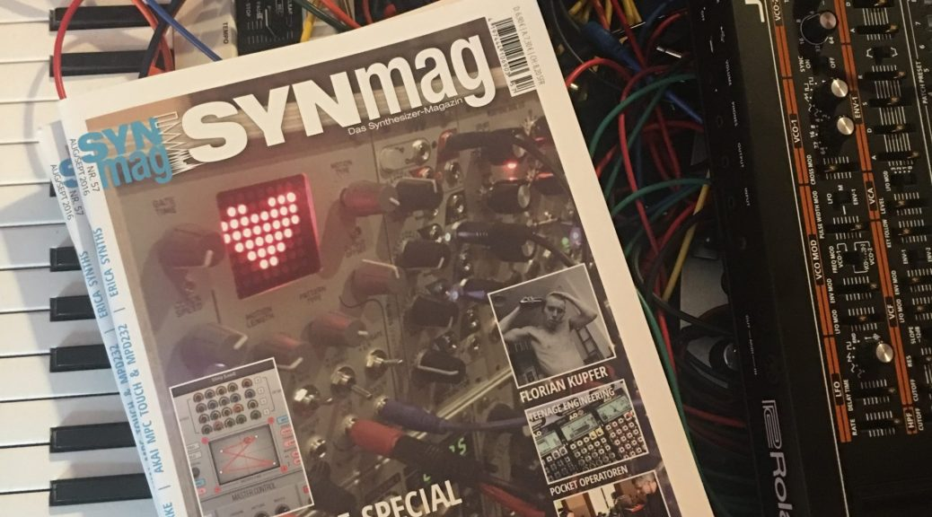 SynMag 57 Das Synthesizer-Magazin