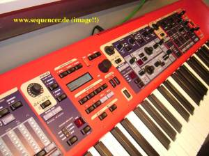clavia stage keyboard and simple synth