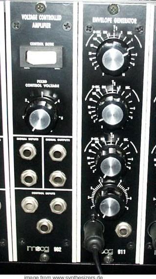moog modular synthesizer system module 911