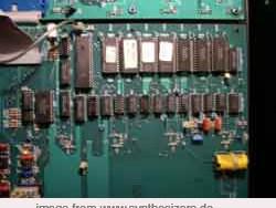 oberheim xpander processor board