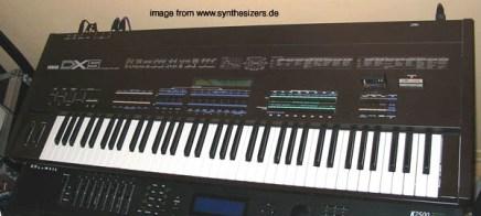 fm synthesizer yamaha dx-5
