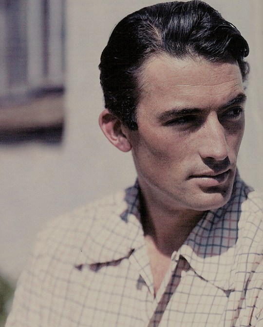"""""""I just do things I really enjoy. I enjoy acting. When I'm driving to the studio, I sing in the car. I love my work and my wife and my kids and my friends. And I think """"You're a lucky man Gregory Peck, a damn lucky man."""" —Gregory Peck"""
