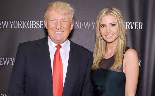 Donald and Ivanka