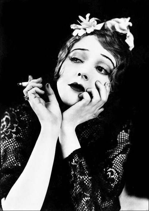 """On life in Hollywood during the silent era: """"The lifestyle was very bizarre and wild. I remember thinking nothing of having liquor all around. We all learned to smoke. No one told us it was bad for us. We had parties that would last from morning through night and then we'd go on to another house and end up in a house with somebody we didn't even know. Yet, in a way, it was an innocent time."""" —Madge Bellamy"""