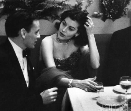 Frank and Ava enjoying a night on the town, 1951.