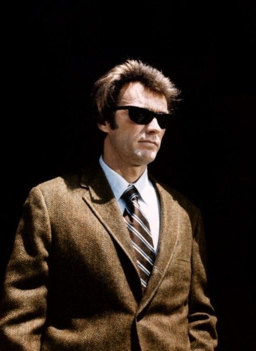 Clint Eastwood in Dirty Harry, 1971.
