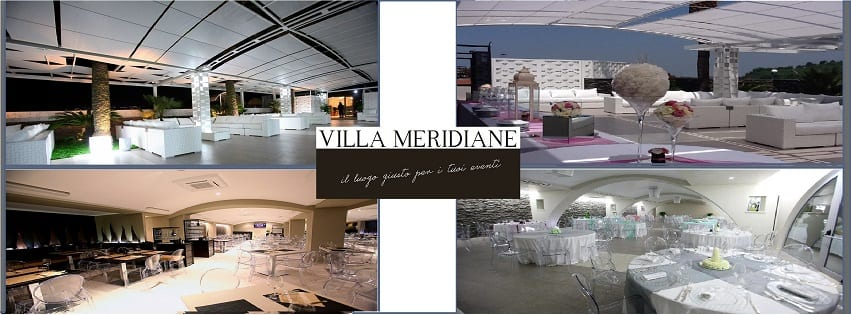 Villa MERIDIANE Napoli - Domenica 17 Pranzo 25€ a persona