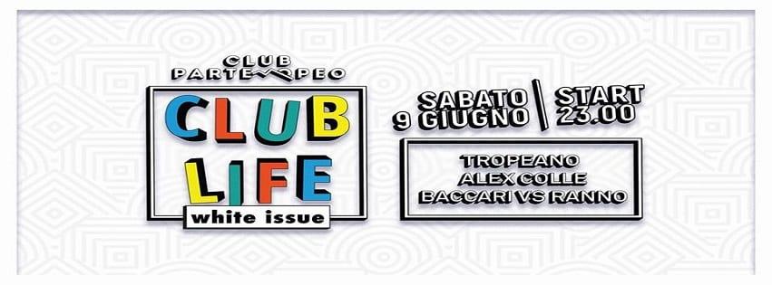 Club Partenopeo Napoli - Sabato 9 Giugno White Issue