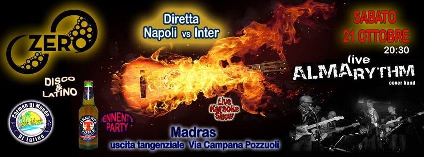 ZERO Discopub Pozzuoli - Sabato 21 Diretta Napoli Live e Disco