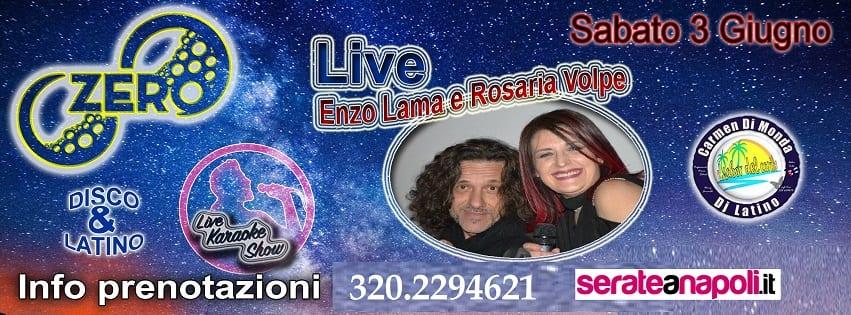 ZERO Discopub Pozzuoli - Sabato sera Enzo Lama live, Disco e Latino