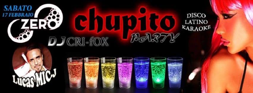 ZERO Discopub Pozzuoli - Sabato 17 Chupito Party Disco e Latino