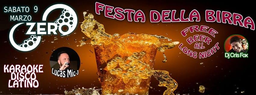 ZERO Discopub Pozzuoli - Sabato 9 Festa della Birra, Disco e Latino