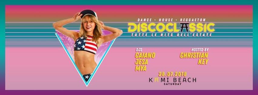 KAMI Beach Varcaturo - Sabato 28 Luglio Exclusive Party