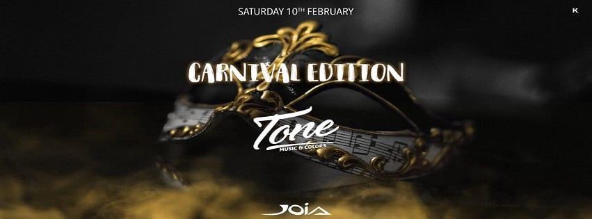 JOIA Napoli - Sabato 10 Febbraio Carnival Party