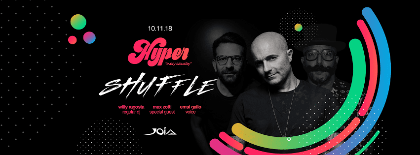 JOIA Napoli - Sabato 10 Nov Max Zotti Exclusive Party
