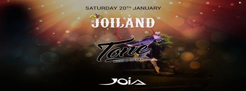 JOIA Napoli - Sabato 20 Gennaio JoiLand Party
