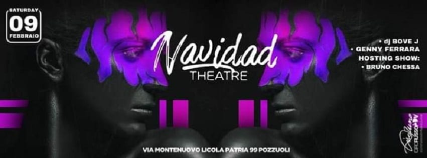 Navidad Pozzuoli - Sabato 9 Febbraio Cena & Disco