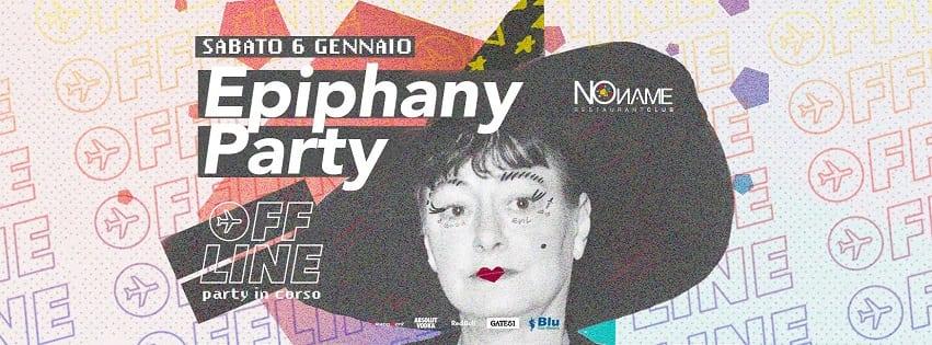 NoName Discoteca Napoli - Sabato 6 Gennaio Epiphany Party
