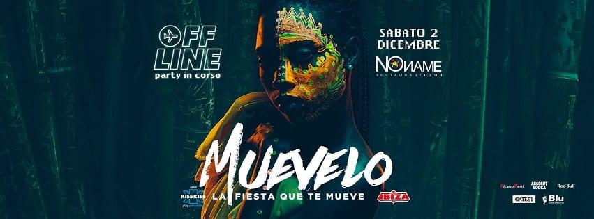 NoName Discoteca Napoli - Sabato 2 Dic Party Muevelo