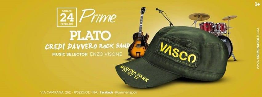 PRIME Pozzuoli - Sabato 24 Febbraio Cena Live Music e Dj Set