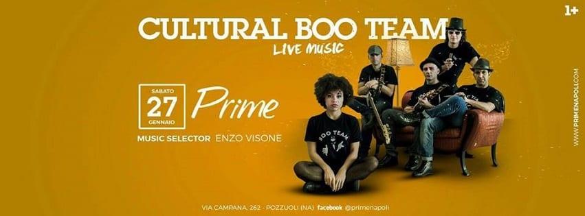 PRIME Pozzuoli - Sabato 27 Gennaio Live Music e Dj Set