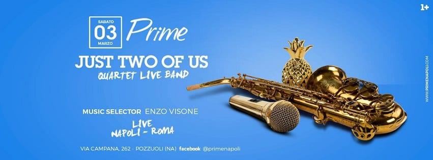 PRIME Pozzuoli - Sabato Diretta Napoli Live Music e Dj Set