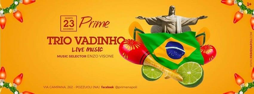 PRIME Pozzuoli - Sabato 23 Dicembre Live Music e Dj Set