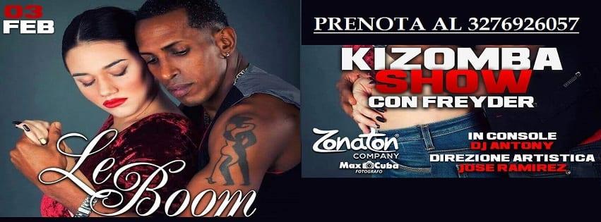 LeBoom Discopub Pozzuoli - Sabato 3 Febbraio Kizomba Show