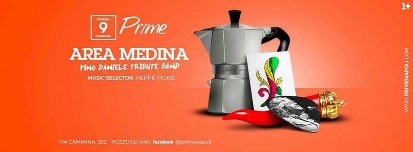 PRIME Pozzuoli - Venerdi 9 Feb Area Medina Dinner Show