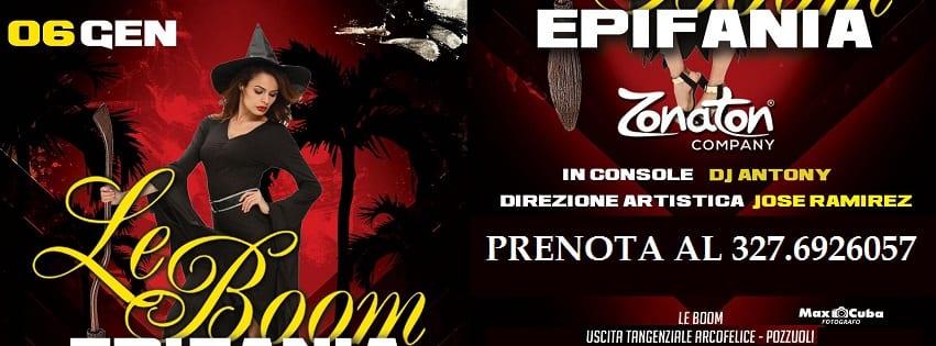 LeBoom Discopub Pozzuoli - Sabato 6 Gennaio Party Epifania