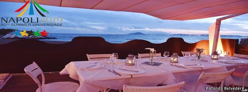Rotonda Belvedere Napoli - Domenica 7 Luglio Pranzo in riva al Mare