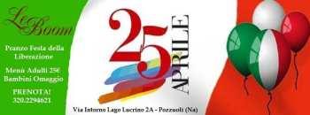 Le boom Pozzuoli - Pranzo Festa della liberazione