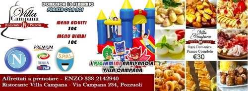 Villa Campana Pozzuoli - Domenica18FEB