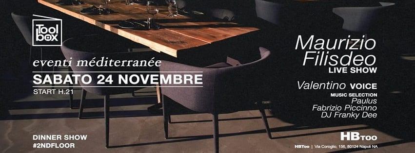 HBTOO Napoli - Sabato 24 Novembre Toolbox Exclusive Party
