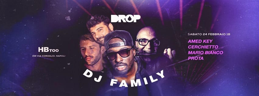 HBTOO Napoli - Sabato 24 Febbraio Drop Exclusive Party