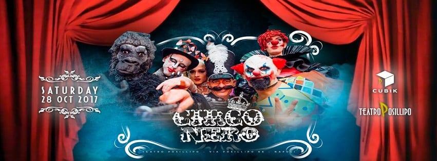 TEATRO Posillipo - Sabato 28 Ottobre Circo nero Show