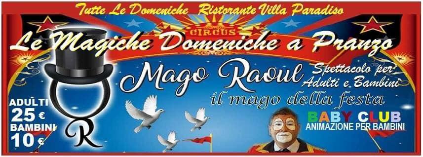Villa Paradiso Pozzuoli - Domenica 13 Gennaio a pranzo