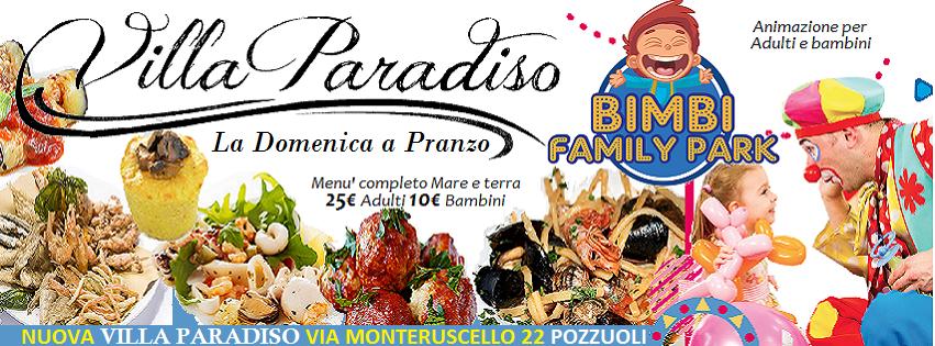 Villa Paradiso Pozzuoli - Domenica 7 Aprile a pranzo