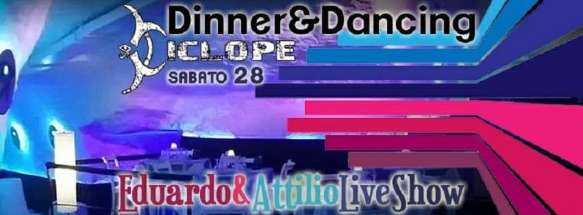 Ciclope Club Posillipo - Sabato 28 Cena, Live e Disco