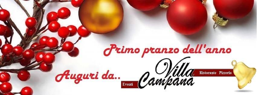 Villa Campana Pozzuoli - Lunedi 1 Gen Pranzo di Capodanno