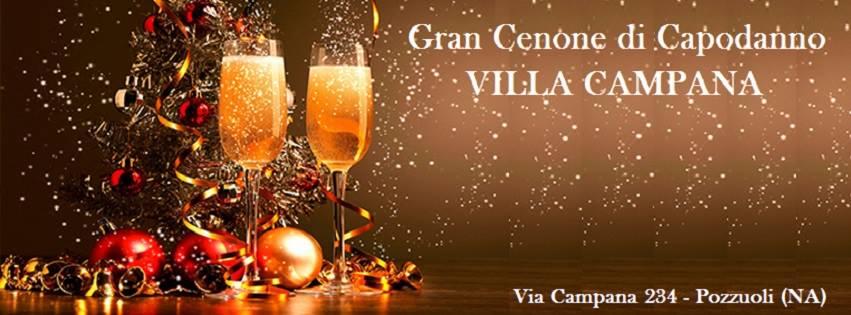 Villa Campana Pozzuoli - Cenone Capodanno Napoli 2018
