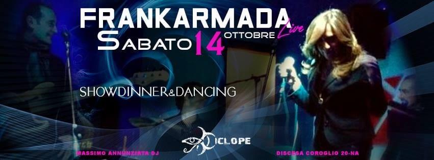 Ciclope Club Posillipo - Sabato 14 Cena, Diretta Napoli Live e Disco