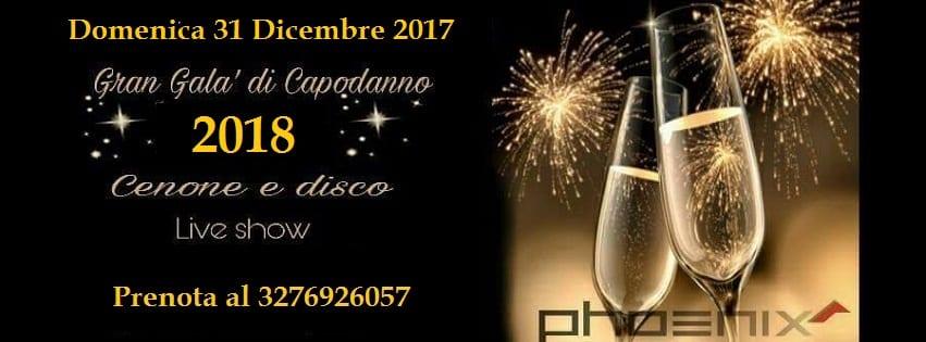 Discoteca Phoenix pozzuoli - Veglione di Capodanno Napoli 2018