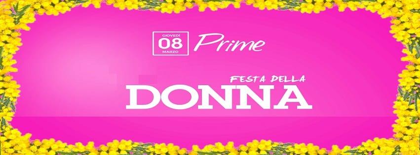 PRIME Pozzuoli - Festa della Donna Napoli 2018