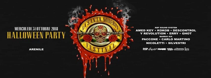 Arenile di Bagnoli - Mercoledì 31 Ottobre Halloween party